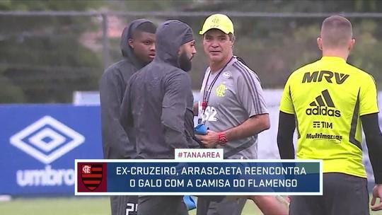 Flamengo treina em BH pra encarar o Atlético-MG neste sábado