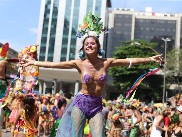 """No Carnaval do Não é Não"""", ainda é preciso educar os homens (Foto: Fernando Lemos/ Agência O Globo)"""