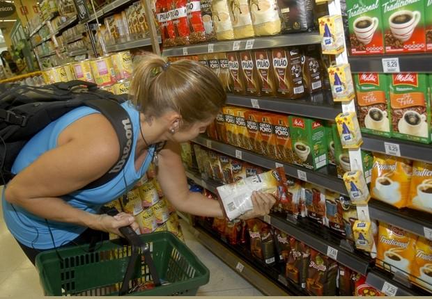 Inflação ; alta dos preços ; consumo ; supermercado ; varejo ; alimentos ; cesta básica ; IPCA ;  (Foto: Tânia Rego/Agência Brasil)