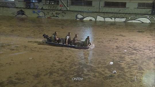 Temporal em BH deixa 4 mortos; um homem está desaparecido