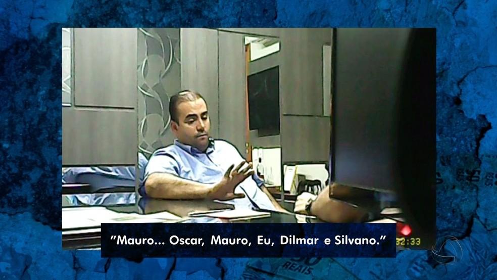 Em vídeo de delação, deputado Wagner Ramos cita nome de membros da CPI das Obras da Copa (Foto: TVCA/Reprodução)