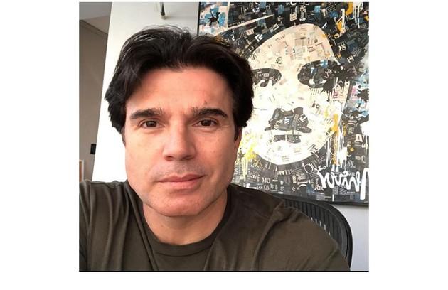 Ator e apresentador, Jarbas Homem de Mello também testou positivo para a Covid-19. Ele, que é marido de Claudia Raia, também já recebeu alta (Foto: Reprodução)