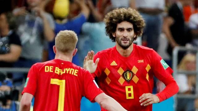 Bélgica de Kevin De Bruyne e Fellaini vai encarar o Brasil