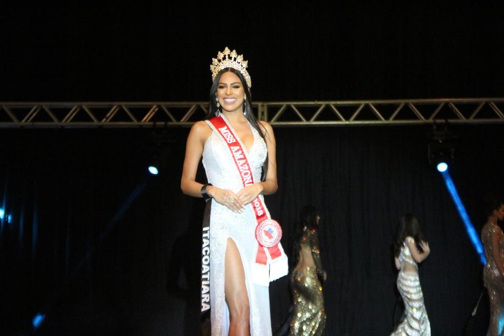 Mayra Dias foi escolhida Miss Amazonas (Foto: Rickardo Marques/G1 AM)