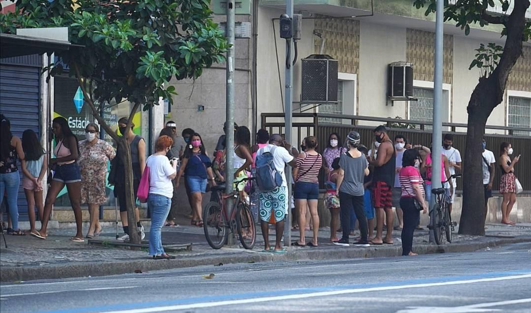 Rua Pompeu Loureiro, em Copacabana, na Zona Sul
