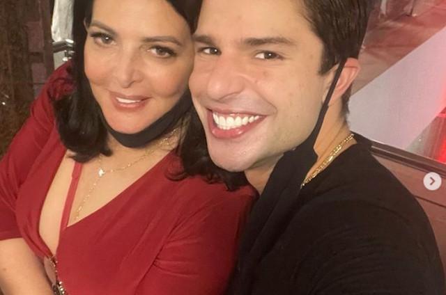 Diego Montez com a mãe (Foto: Reprodução Instagram)