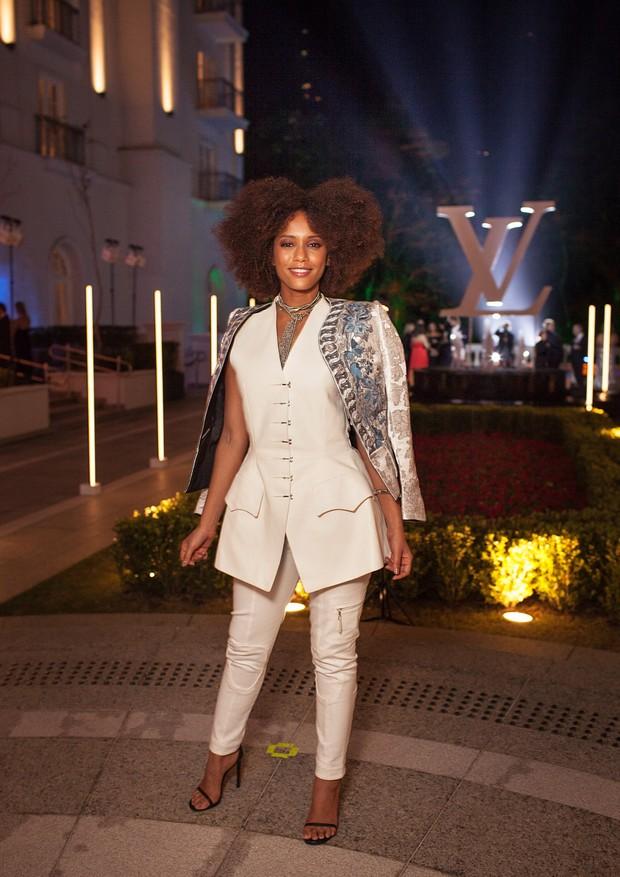 Taís Araújo no jantar das Louis Vuitton (Foto: Marcelo Salvador)