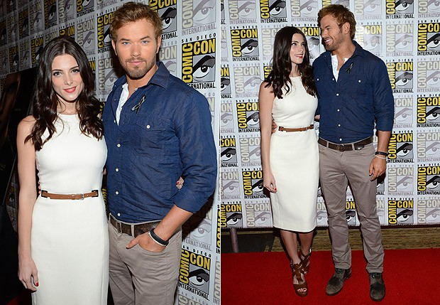 Ashley Greene e Kellan Lutz (Foto: Getty Images)
