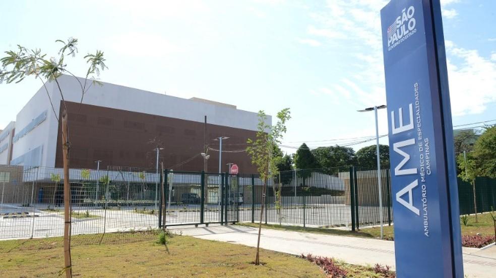 Estrutura do AME, em Campinas — Foto: Luiz Granzotto / Prefeitura de Capinas