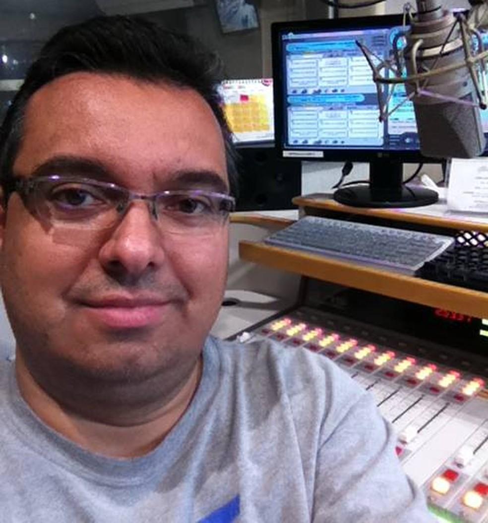 Ricardo Hill era conhecido em rádios da capital e do interior de São Paulo (Foto: Arquivo pessoal)
