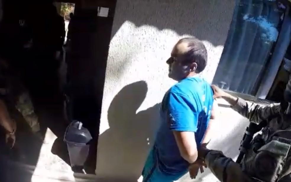 Felipe Ramos Morais, de 31 anos, preso em Caldas Novas Goiás (Foto: Divulgação/Polícia Civil)