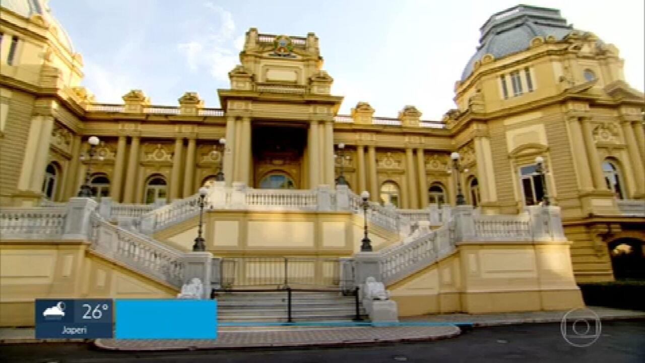 Palácio das Laranjeiras será reaberto ao público