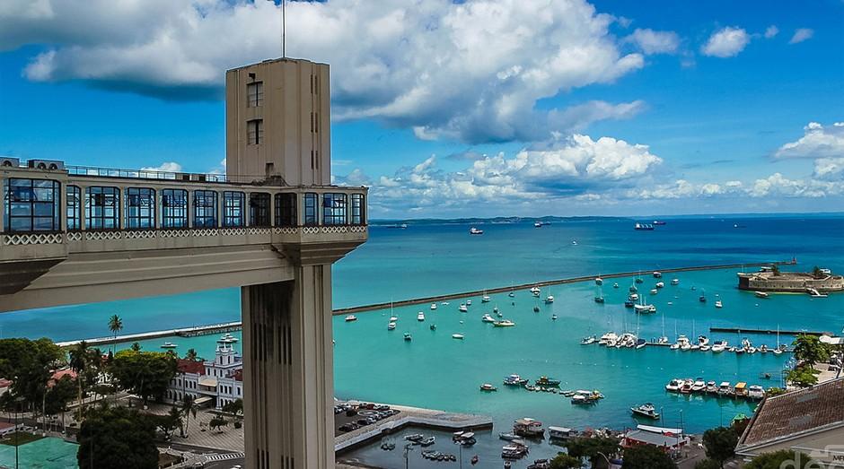 Salvador, a capital baiana, ocupa a 14ª posição. Os atrativos da cidade para o empreendedor são o baixo preço do m², cerca de R$ 4.400, e o aeroporto, com voos para várias partes do país e do mundo. (Foto: WikiCommons)