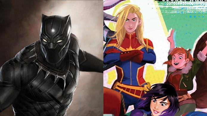 pantera negra e marvel rising o futuro das animações da marvel