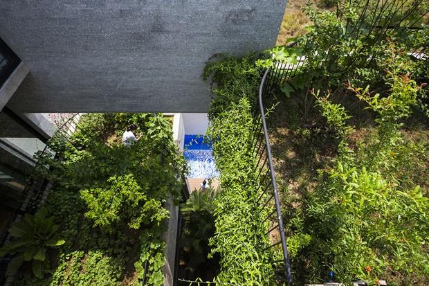 Casa é construída para conectar moradores com a natureza (Foto: Hiroyuki Oki, Quang Dam/Divulgação)