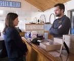 Maura Tierney e Joshua Jackson em 'The affair' | Reprodução
