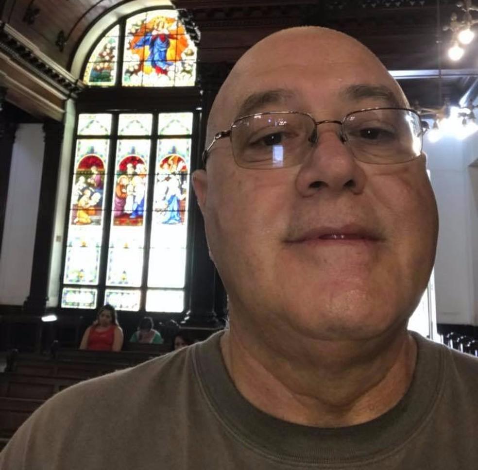 Médico foi localizado após postar foto em igreja (Foto: Arquivo Pessoal)