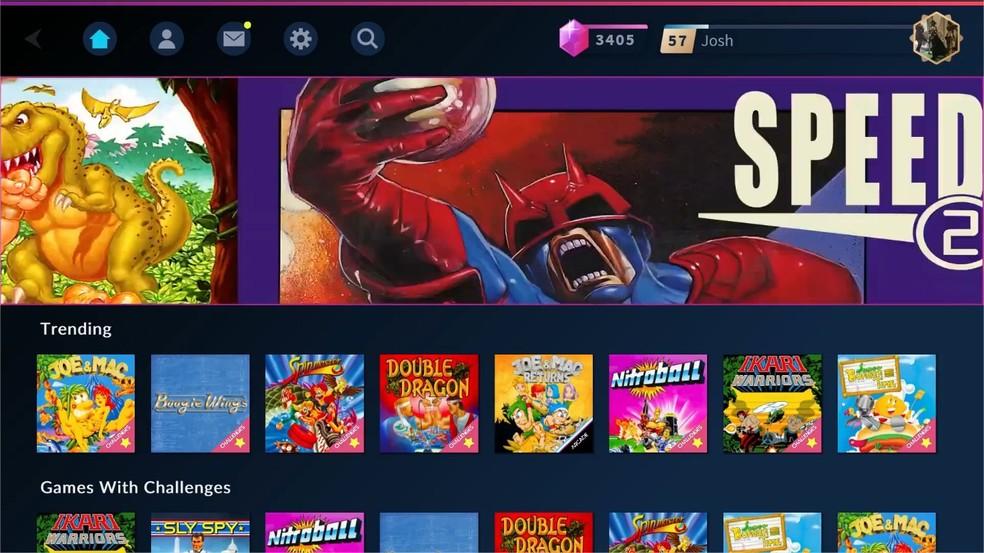 Antstream receberá novos jogos em seu catálogo gradativamente, ultrapassando a marca dos 2 mil títulos — Foto: Divulgação/Antstream