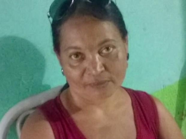 Maria da Conceição Campos, professora, está desaparecida há 4 dias em Goiás (Foto: Reprodução/TV Anhanguera)