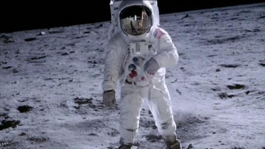 Neste sábado (20), completa 50 anos que o homem pisou na Lua pela primeira vez