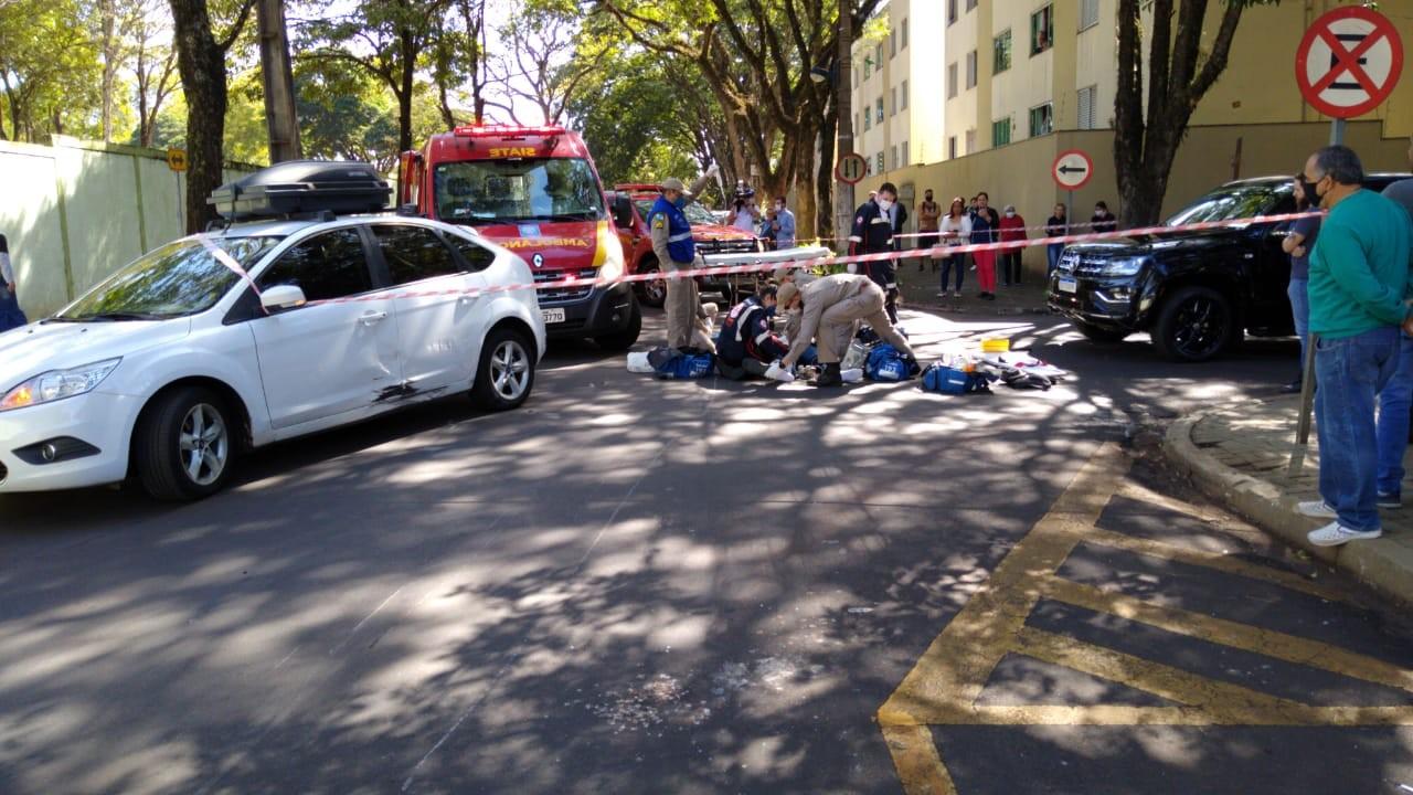 Motociclista morre após batida contra carro em Maringá