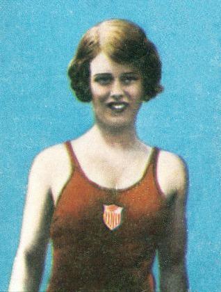 Marjorie Gestring, dos saltos ornamentais, em 1936, ano em que venceu o ouro nas Olimpíadas de Berlim (Foto: Wikimedia Commons)