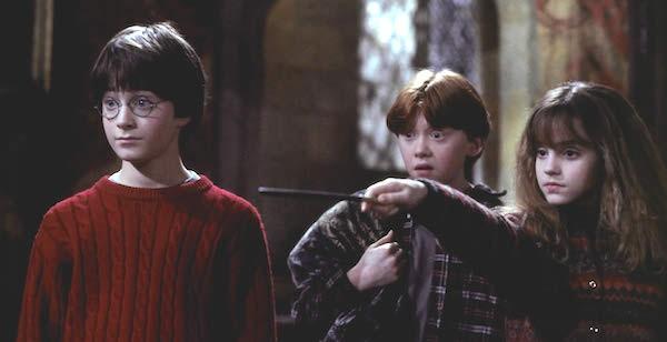 Daniel Racliffe em uma cena de Harry Potter e a Pedra Filosofal (Foto: Divulgação)