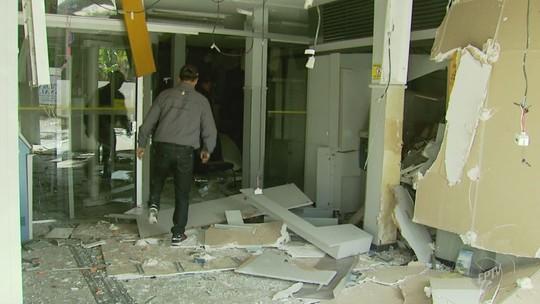 Suspeito de participar de explosões a bancos em Minas Gerais é preso em Cordeirópolis, SP