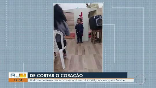 Padrasto confessa morte de menino de 2 anos encontrado em valão no RJ