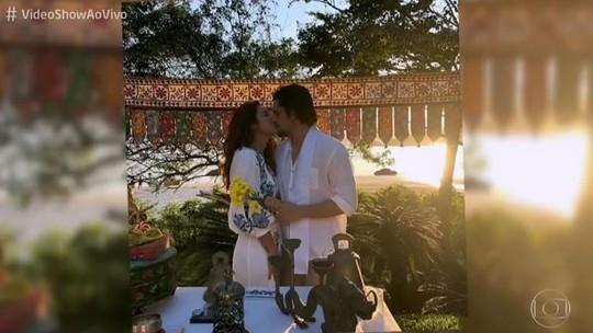 Bruno Gissoni relembra casamento com Yanna Lavigne: 'Foi uma surpresa pra mim'