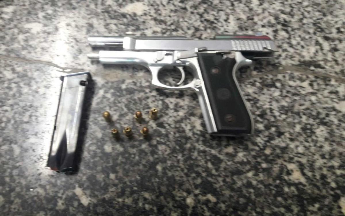 DF faz primeira apreensão de arma de uso restrito como crime hediondo