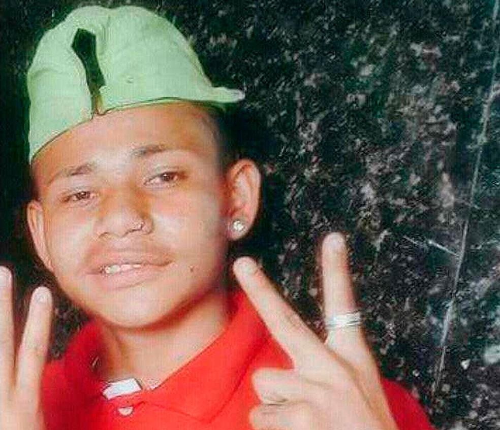 Samuel Braz tinha 17 anos e foi morto a facadas; namorada é suspeita  (Foto: Arquivo Pessoal)