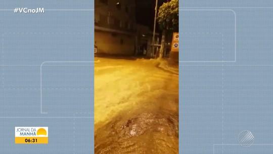 Médico morre durante temporal na cidade de Caetité, no sudoeste da Bahia; vídeo mostra enxurrada