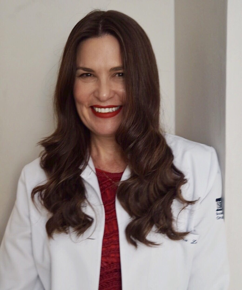 Dra. Luciana M. Lourenço (CRM 82887/SP) — Foto: Divulgação