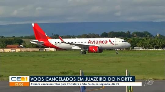 Avianca cancela voos em Juazeiro do Norte