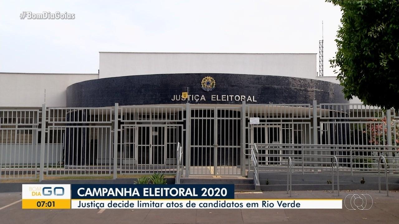 Justiça Eleitoral limita atos de campanha em Rio Verde