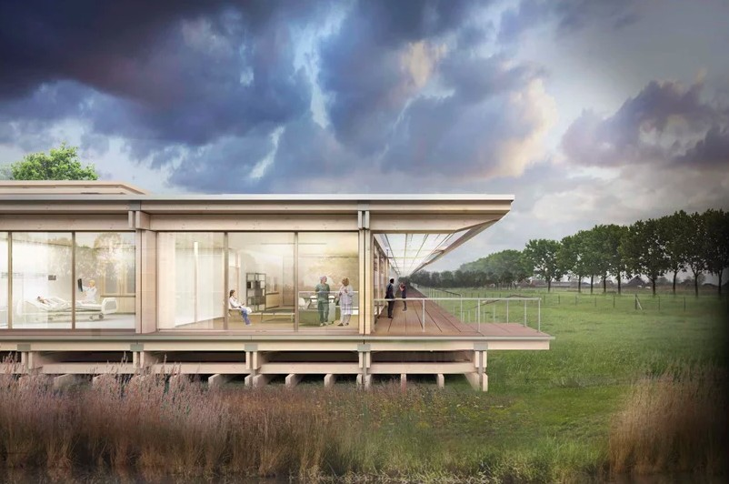 """Arquitetos criam """"casa ideal"""" para cuidar de doenças virais (Foto: Divulgação)"""
