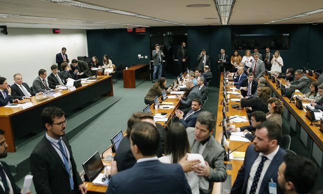 Plenário da Comissão Especial