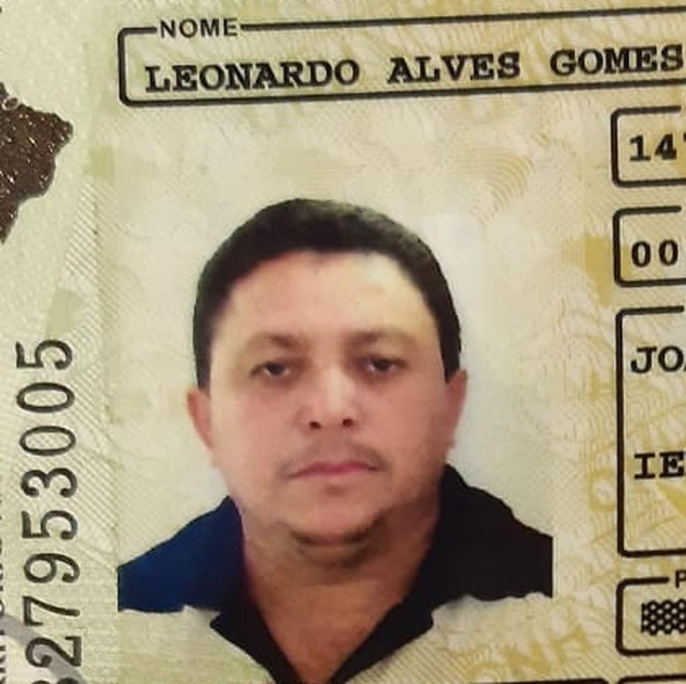 Leonardo Alves foi morto após reagir a assalto em Macaíba  — Foto: Cedida