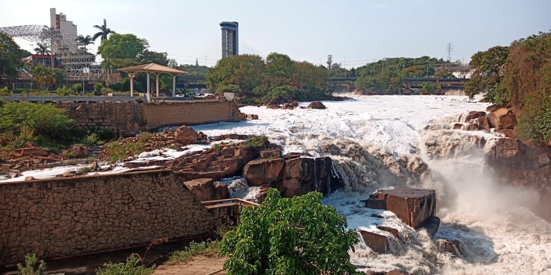 Estudo mostra que mancha de poluição do Rio Tietê no interior de SP chega a quase 300 km