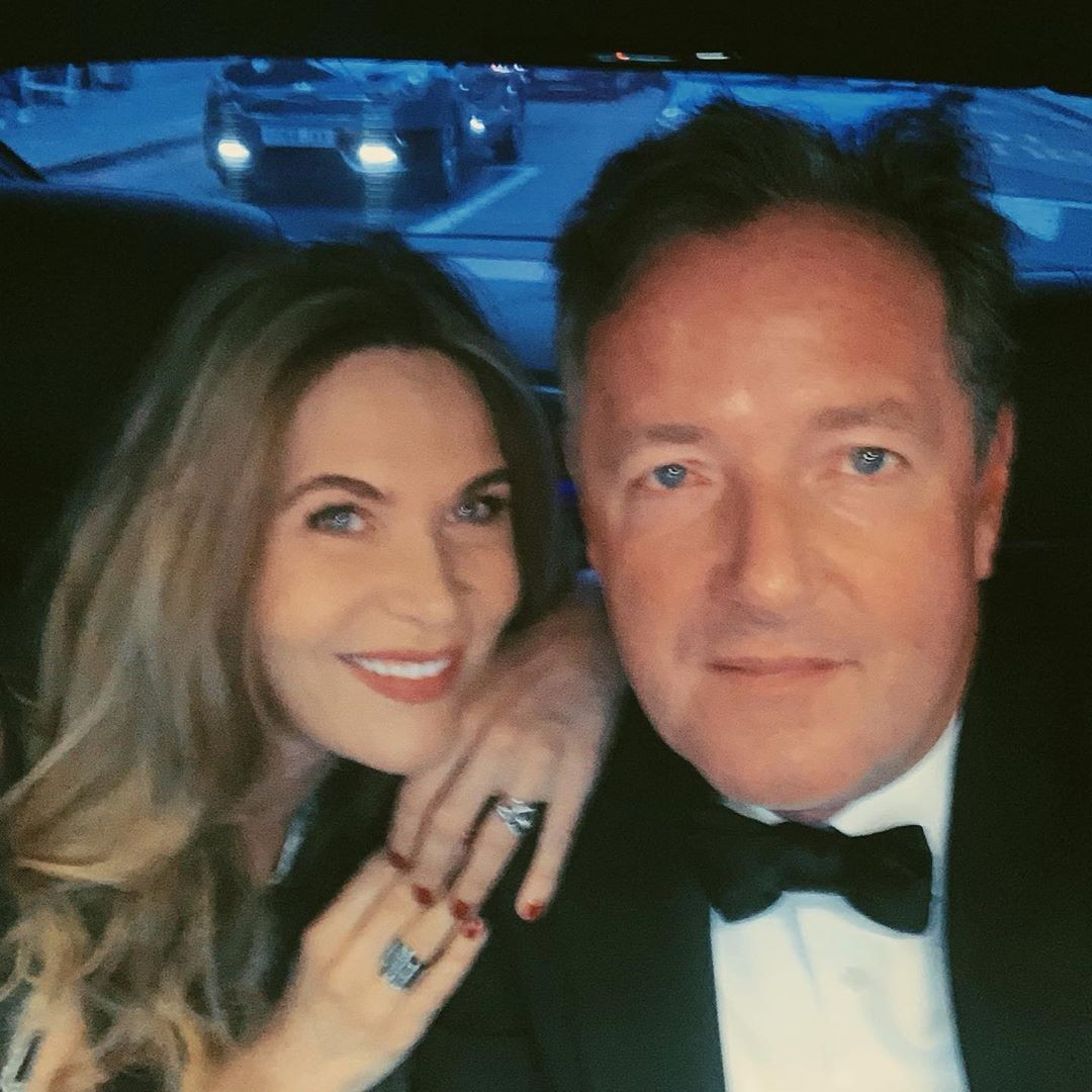 Piers Morgan e Celia Walden (Foto: Instagram)