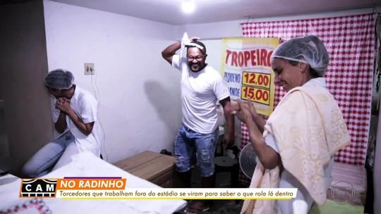Atlético-MG x La Equidad: veja como torce quem trabalha do lado de fora do Independência
