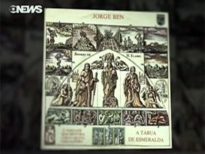 Disco 'Tábua de esmeralda', de Jorge Ben Jor (Foto: Reprodução/Globo News)