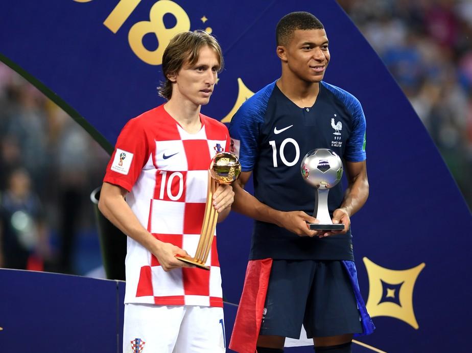 Modric é eleito o melhor da Copa, e Mbappé leva prêmio de jogador jovem