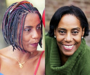 A atriz na época da 'Malhação' (à esquerda) e atualmente | TV Globo-Arquivo pessoal