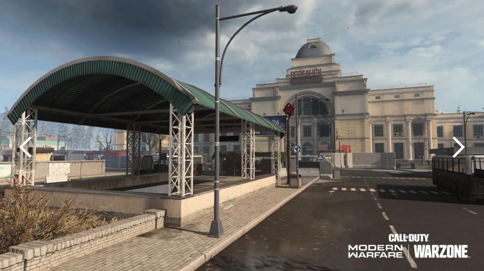 Verdansk Train Station. (Image: Activision)