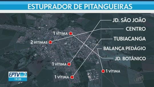 Polícia Civil vai produzir retrato falado de suspeito de estupros em série em Pitangueiras, SP
