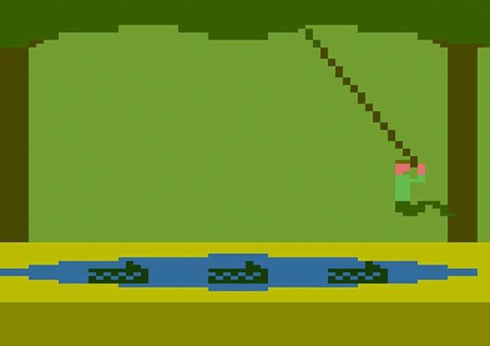 Pitfall era muito inovador para sua época (Foto: Reprodução/Atari Achive)