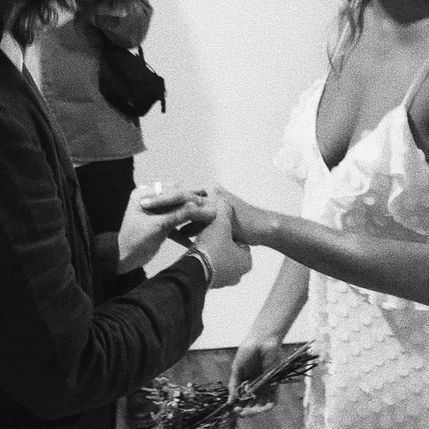 Sasha e João Figueiredo se casam (Foto: Reprodução / Instagram)