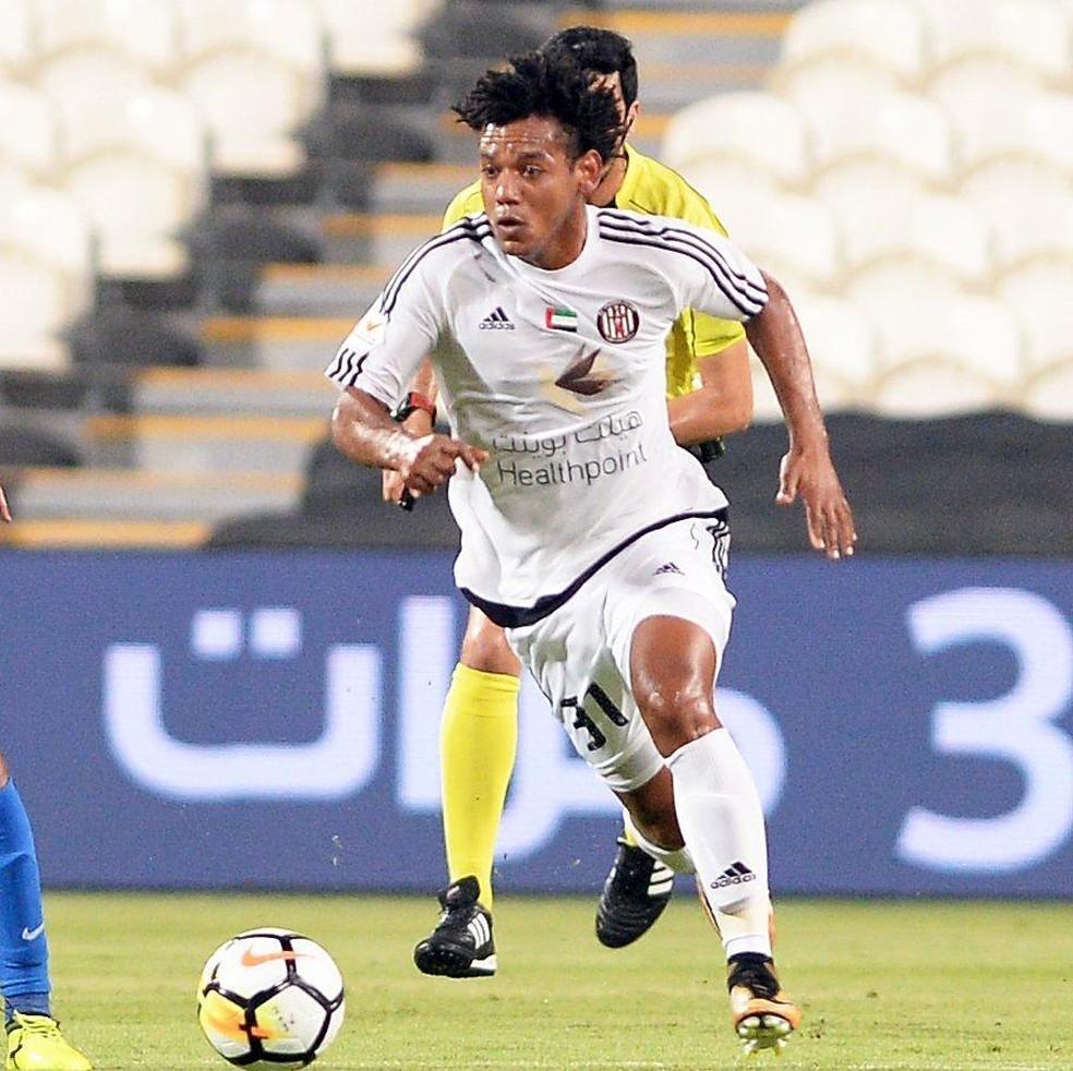 Romarinho é um dos destaques do Al Jazira (Foto: Reprodução/Instagram)